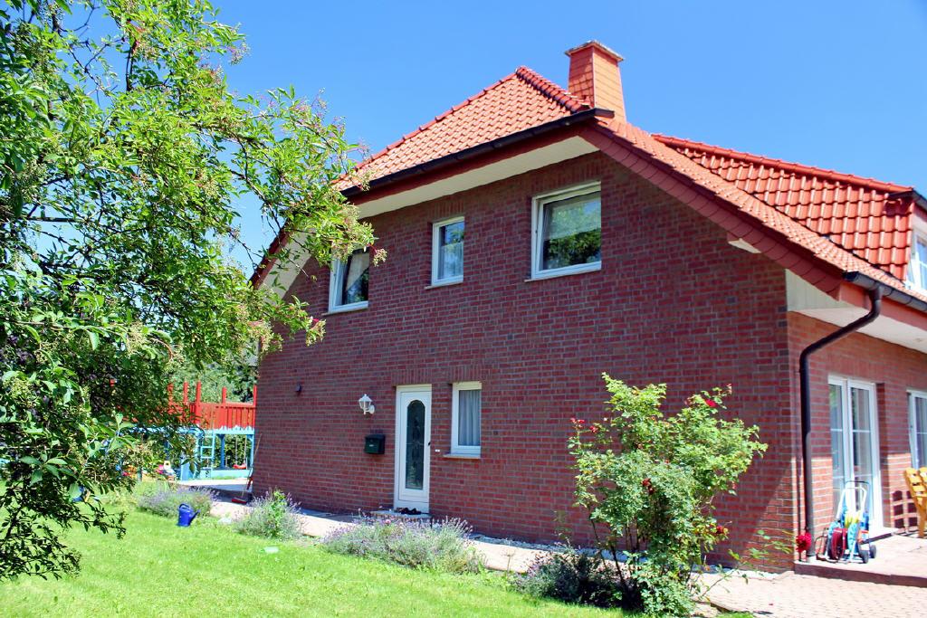 windgeschützter Hauseingang