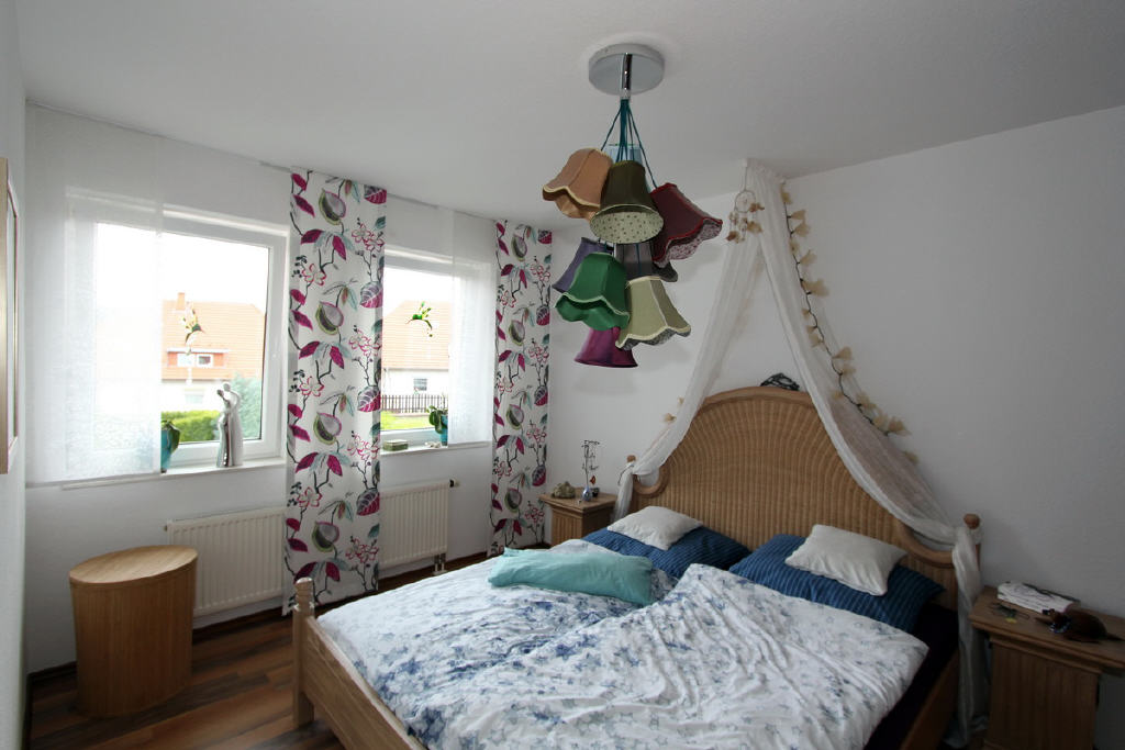 ansprechendes Schlafzimmer