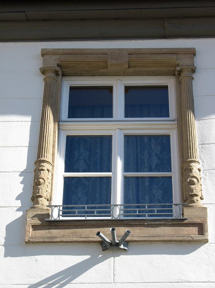 Eichen-Fachwerkfenster
