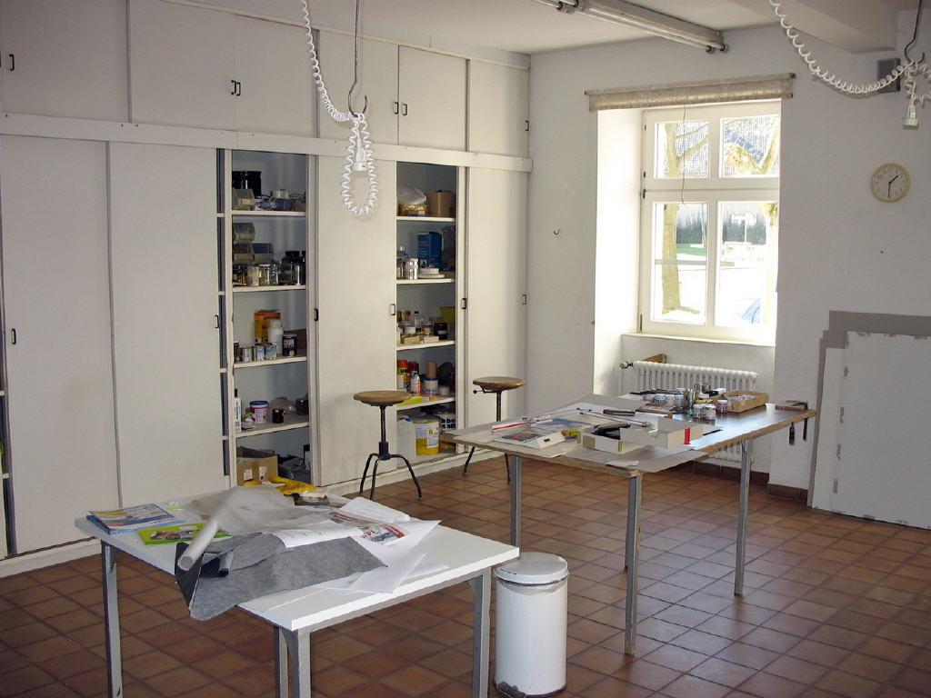 Atelier oder Werkstatt für Künstler