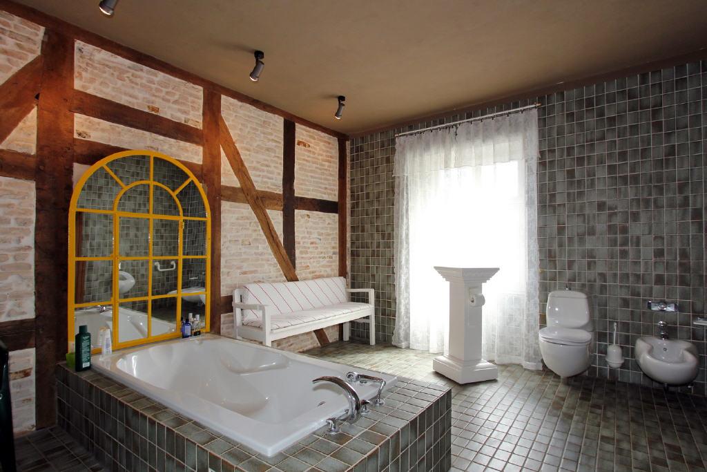 20 m² großes Voll-Duschbad