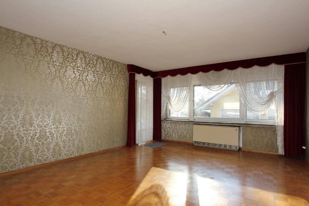 48 m² großes Wohn-/Esszimmer