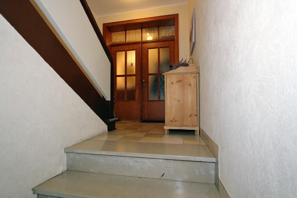 Wohnungseingang im Erdgeschoss