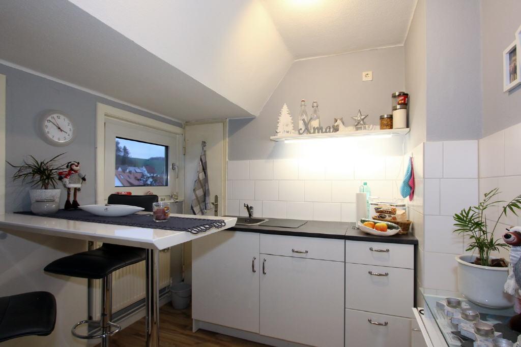 modern, gestaltete Küche