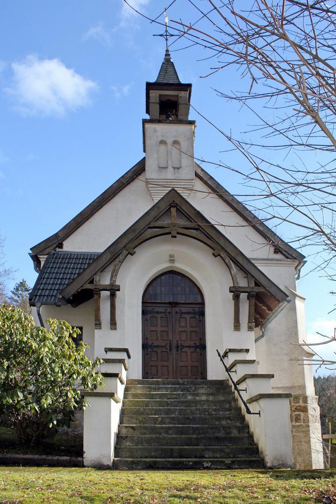 Haupteingang der Kapelle