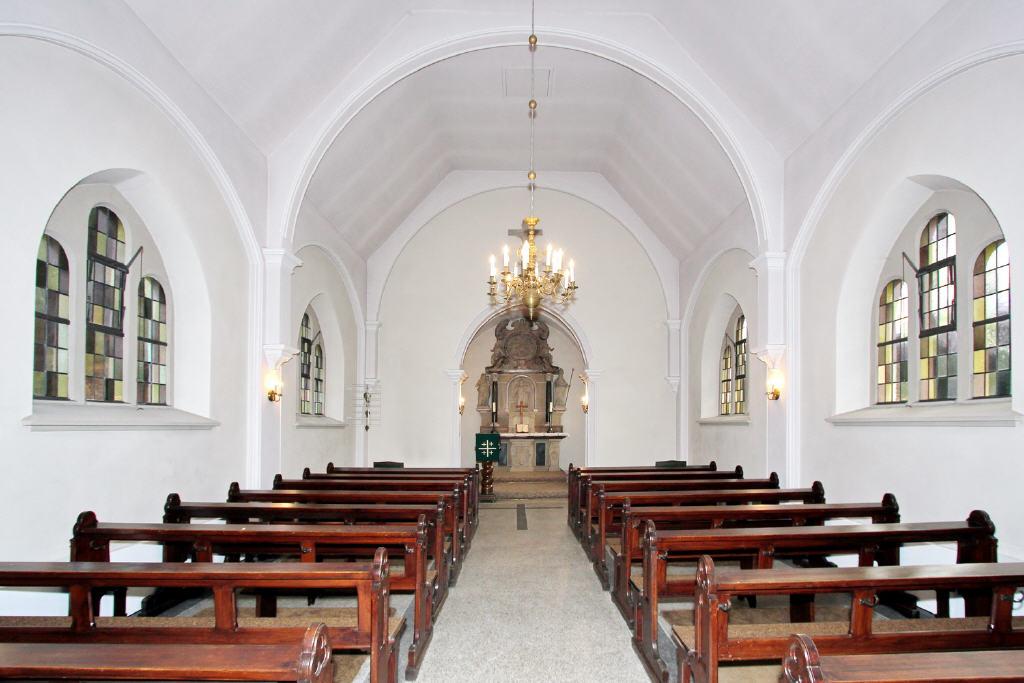 Hauptraum der Kapelle