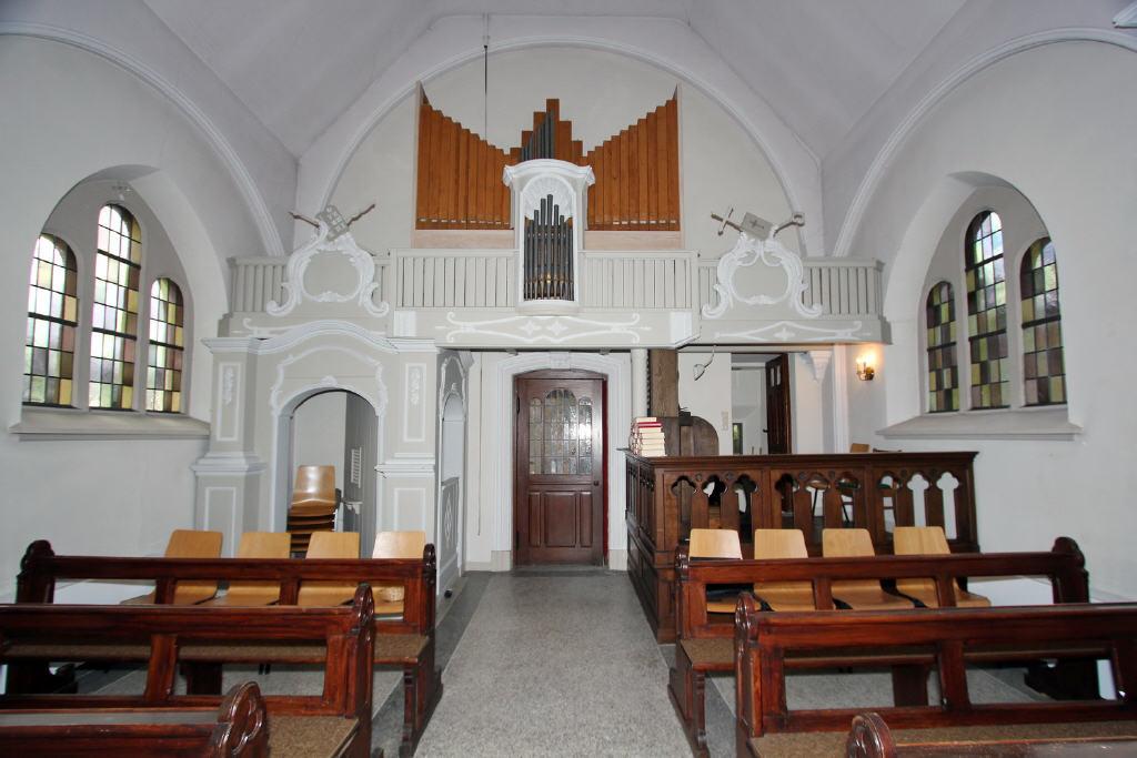 Raumteiler in barocker Bauweise