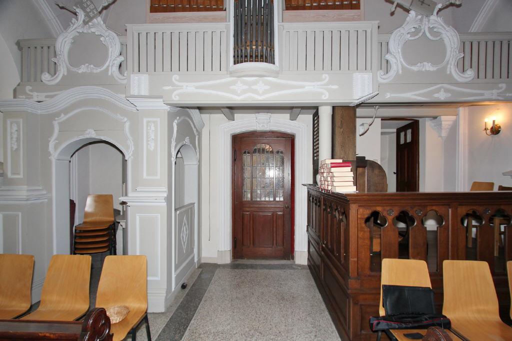 barocke Stilelemente in Holzbauweise