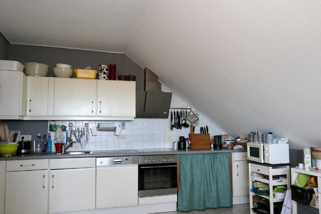 Küchenzeile in der Wohnküche