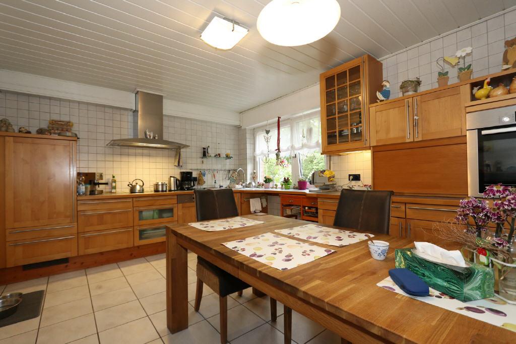 16 m² große Wohnküche