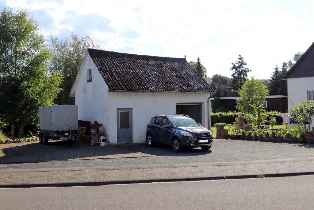 47 m² große Garage