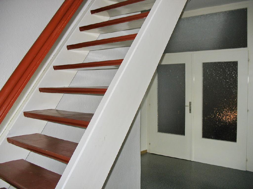 Treppenaufgang auf den nutzbaren Dachboden