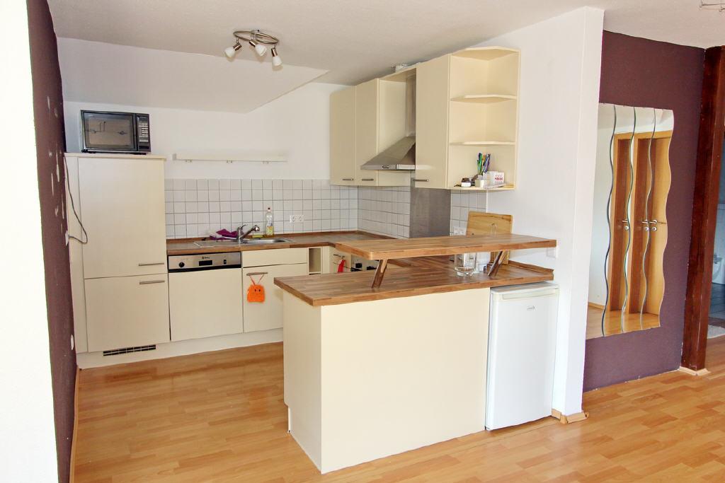offene Küche zum Wohn-/Essbereich