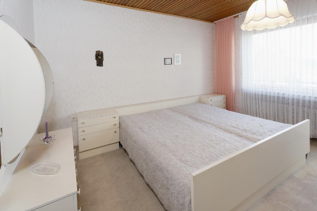 große Schlafräume mit Loggia