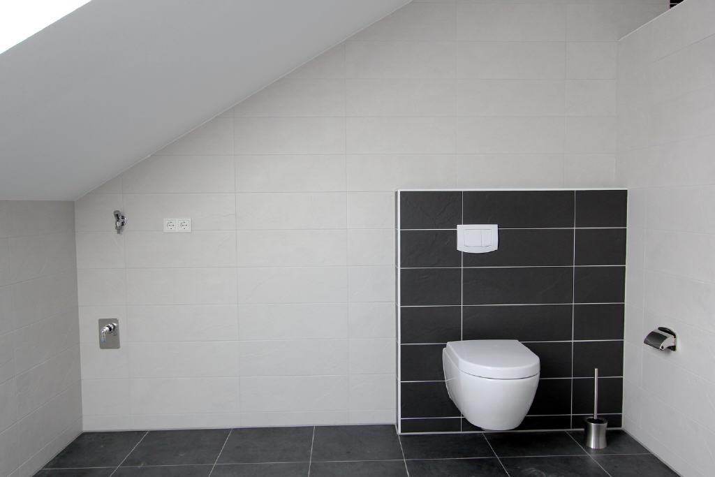 12 m² großes Bad mit Waschmaschinenanschluss