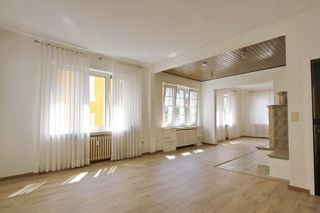 55 m² großes Wohn- und Esszimmer