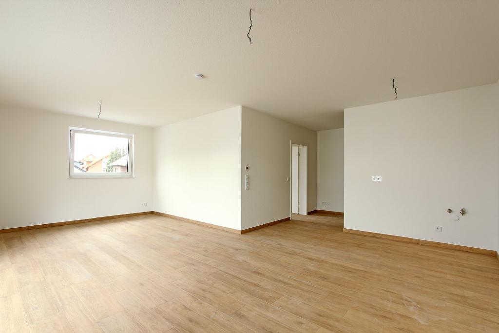 35 m² großer Wohn-/Küchenbereich