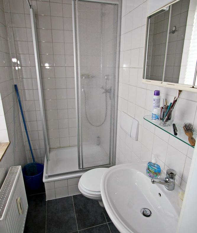 Gäste-WC / Duschbad mit Fenster