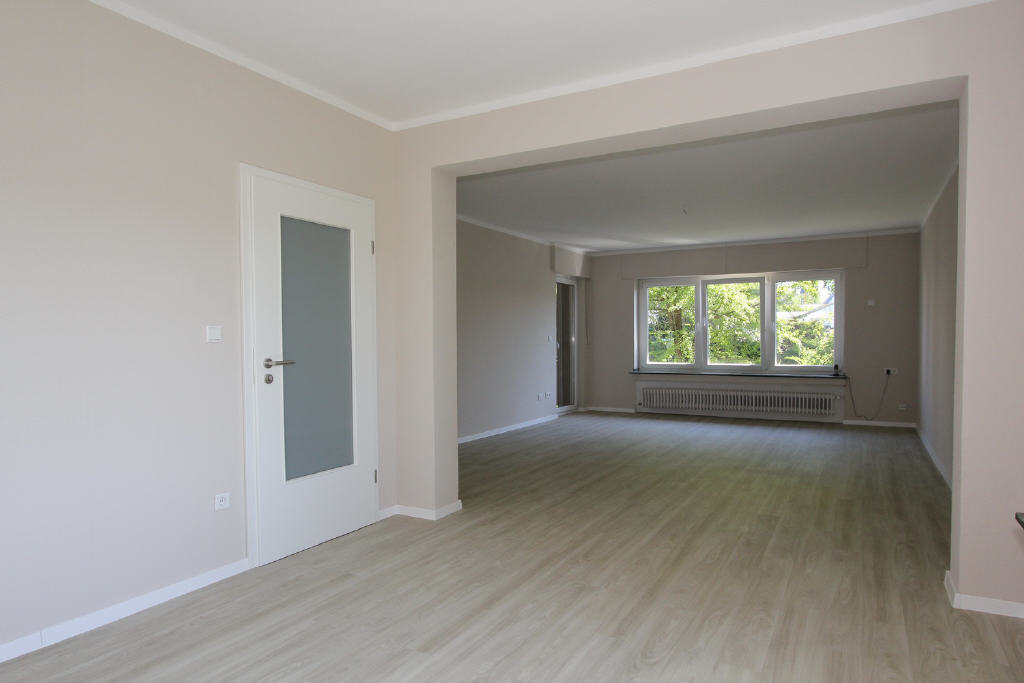 Übergang ins Wohnzimer
