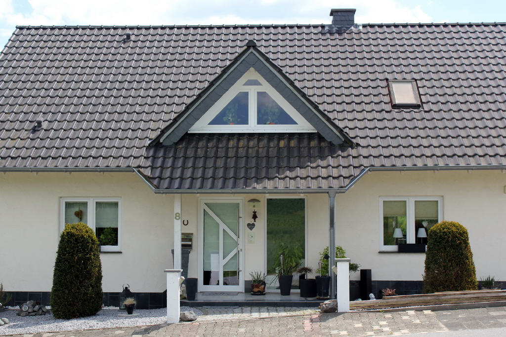 repräsentativer Hauseingang