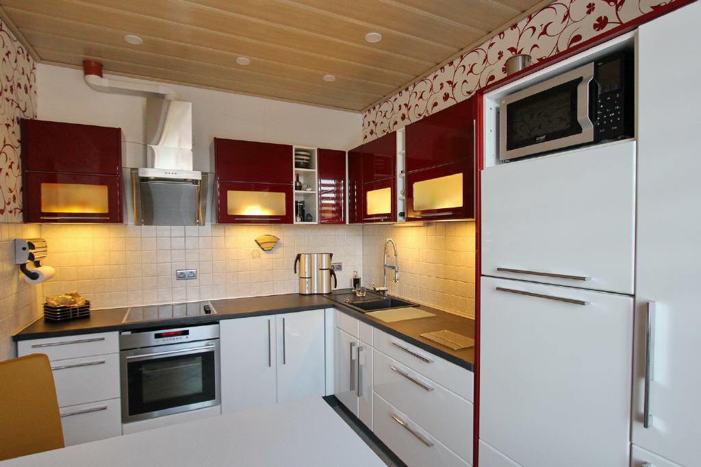 10 m² große Küche