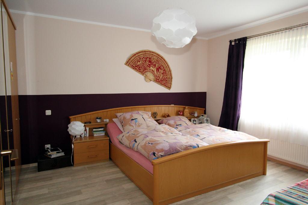 große Schlafräume in allen Wohnungen