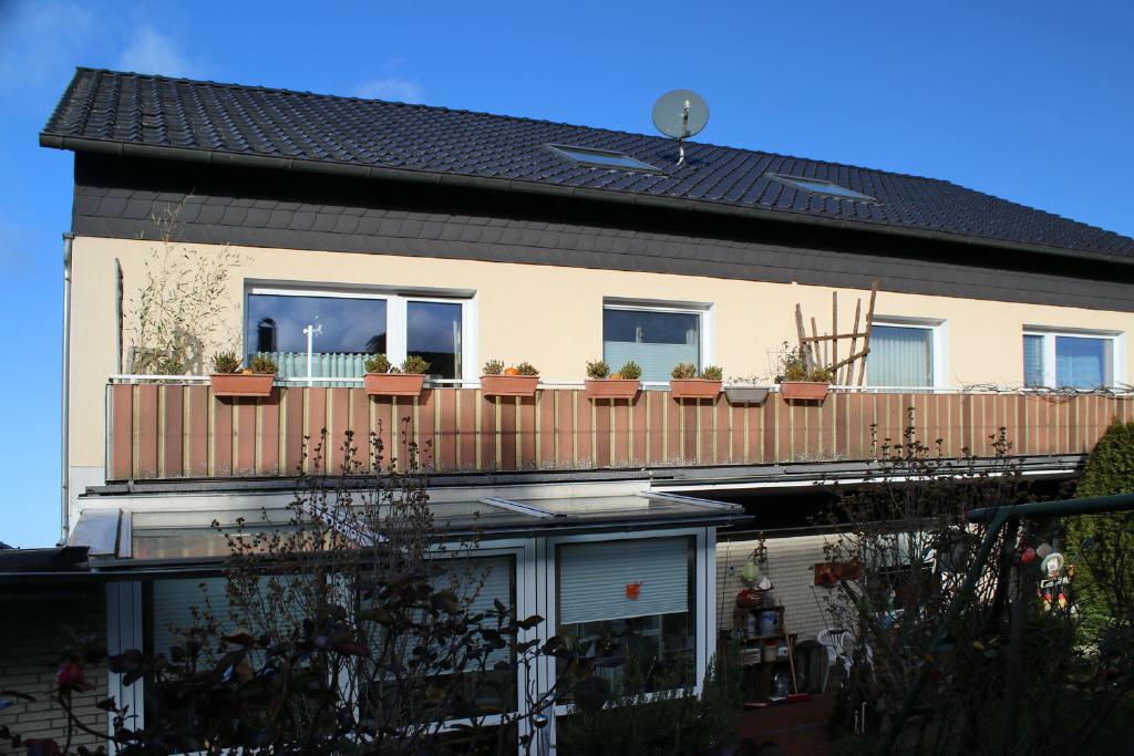 10 m² großer Balkon