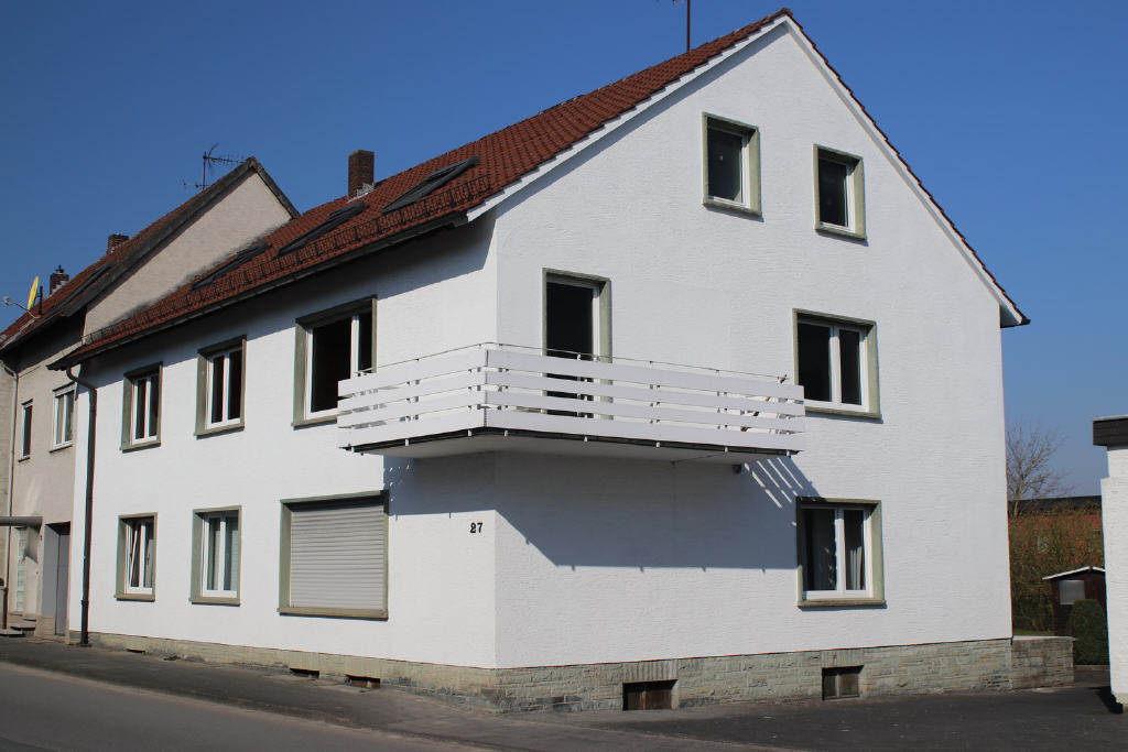OG-Wohnung mit Balkon