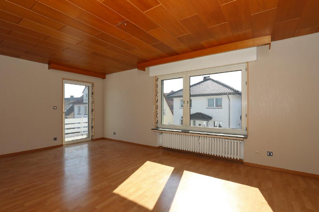 28 m² großes Wohnzimmer