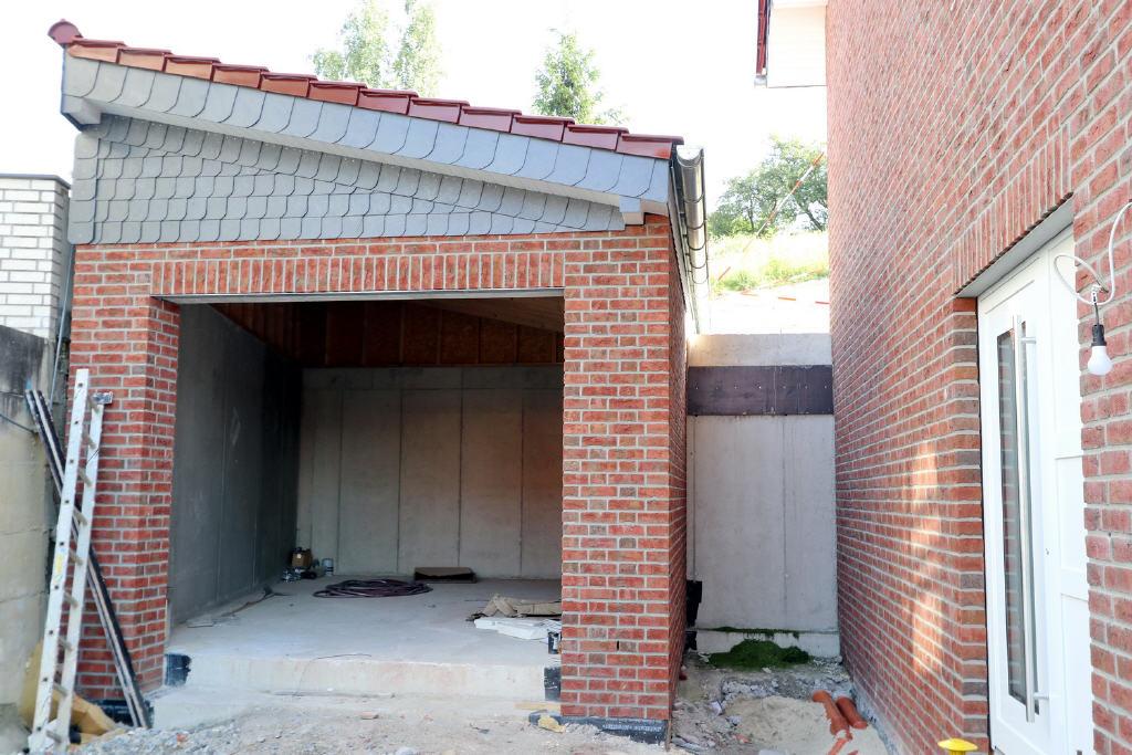 übergroße Garage