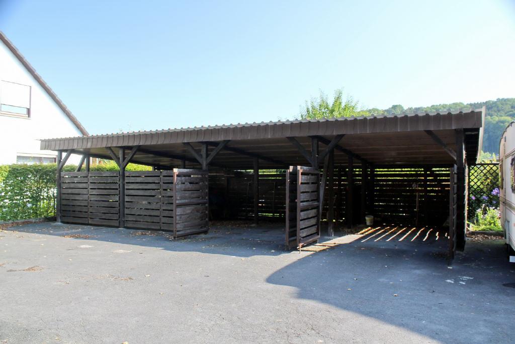 Carportanlage für 4 Pkws