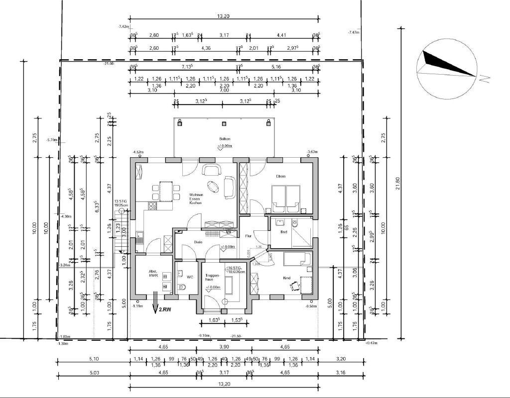 Erdgeschoss-Grundriss