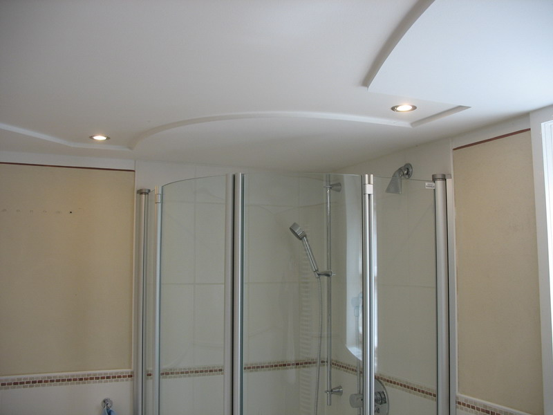 exklus. Duschbad mit moderner Gestaltung
