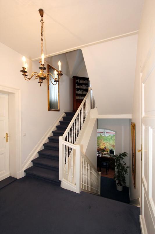 stilvoller Treppenaufgang
