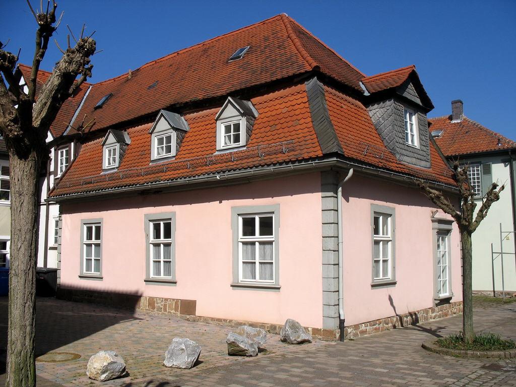 sanierte Barockgebäude