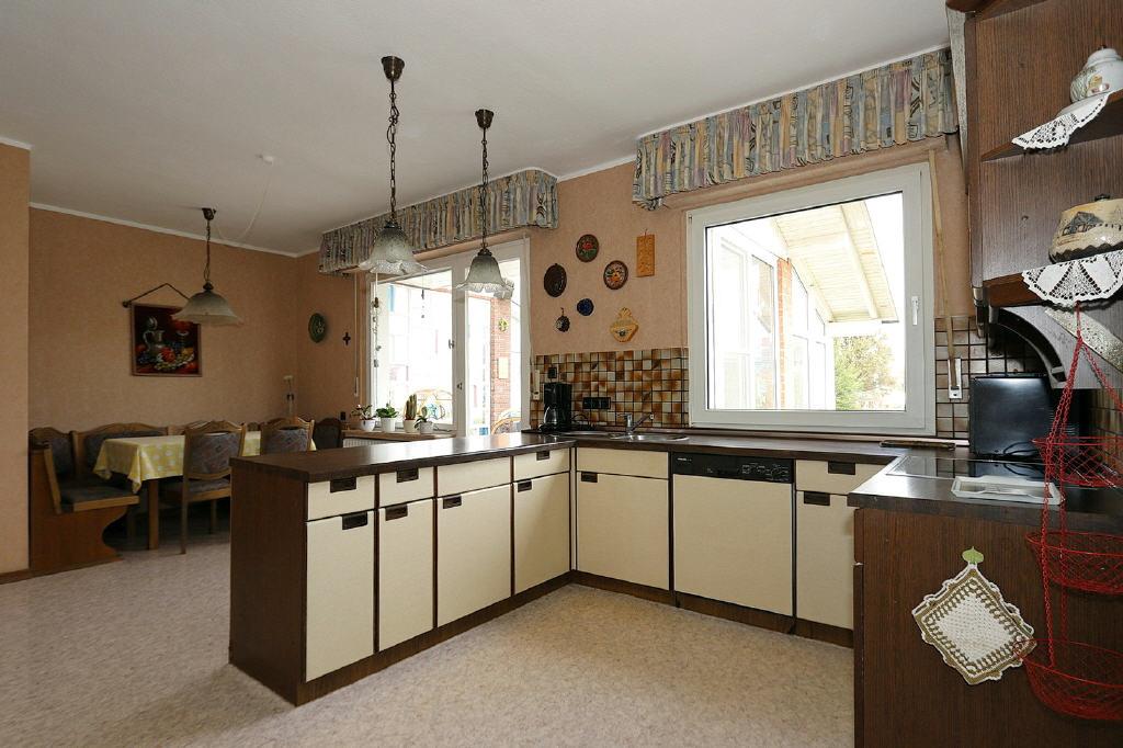 24 m² große Wohnküche