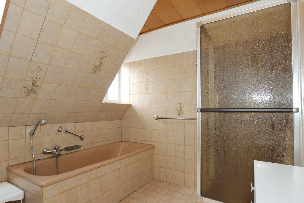 das Bad wird erneuert!