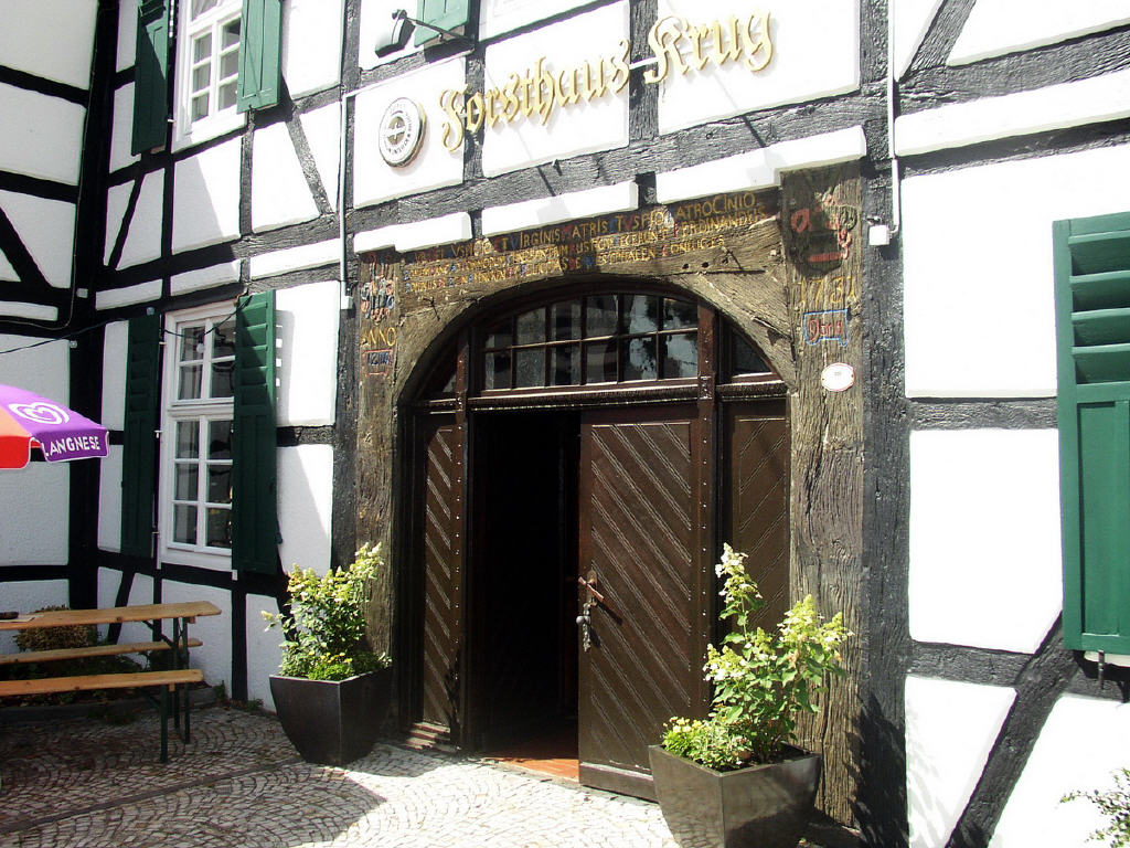 historischer Eingang von 1731